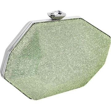 Sac Marina, vert, métal plaqué palladium - Swarovski, 5535448