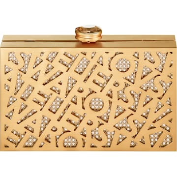 Bolso Logo Lace, tono dorado, baño tono oro - Swarovski, 5535911