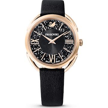 Uhren Damen » Eleganz Zeitlose Lederarmband Swarovski Mit qpMUzSV