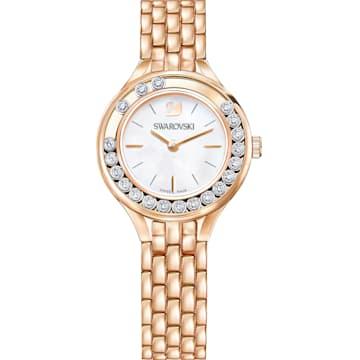스와로브스키 Swarovski Lovely Crystals Watch, Metal bracelet, Rose-gold tone PVD