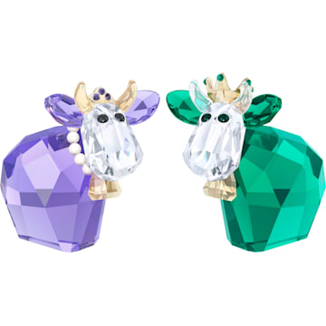 스와로브스키 장식품 Swarovski King and Queen Mo, Limited Edition 2017