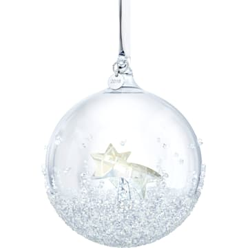 스와로브스키 장식품 Swarovski Christmas Ball Ornament, Annual Edition 2018