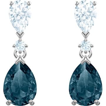5e568945dd01 Pendientes con Swarovski cristales » De color y transparente ...