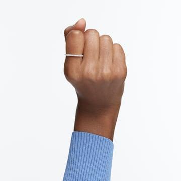 Vittore 戒指, 白色, 鍍白金色 - Swarovski, 5028227