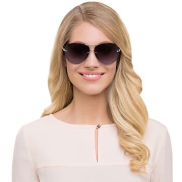 Fascinatione napszemüveg, SK0118 17B, Fekete - Swarovski, 5219658