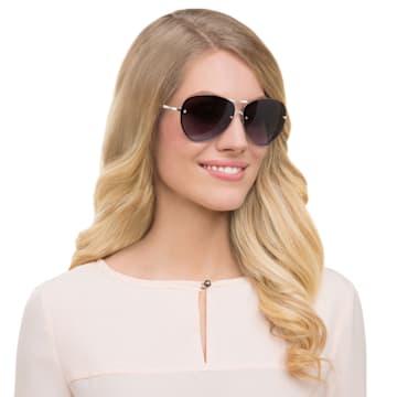 Fascinatione-zonnebril, SK0118 17B, Zwart - Swarovski, 5219658