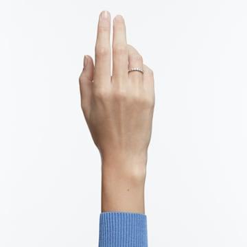 Vittore XL 戒指, 白色, 鍍白金色 - Swarovski, 5237742
