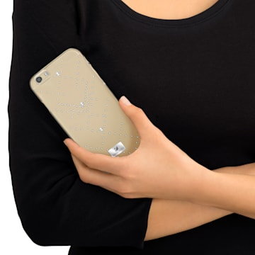 Edify Coque rigide pour smartphone avec cadre amortisseur, iPhone® 6 Plus - Swarovski, 5268108