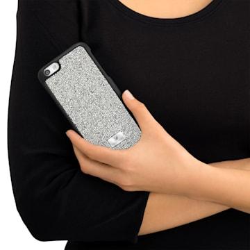 Glam Rock Gray Funda para smartphone con protección rígida, iPhone® 7 Plus - Swarovski, 5268114
