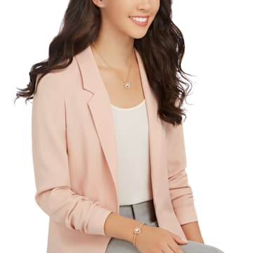 Generation 套裝, 白色, 鍍玫瑰金色調 - Swarovski, 5290681