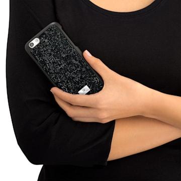 Glam Rock Smartphone Case with Bumper, iPhone® 8 Plus, Black - Swarovski, 5300266