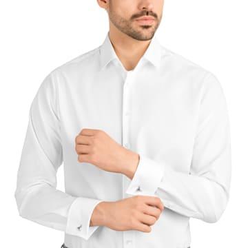 Gentleman Triangle 袖扣, 灰色, 混搭多種鍍層 - Swarovski, 5352222
