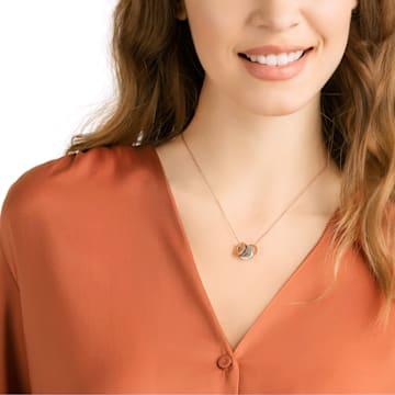 Hint 链坠, 彩色设计, 多种金属润饰 - Swarovski, 5353666