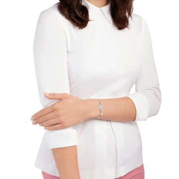 Humanist Sun 手链, 白色, 混搭多种镀层 - Swarovski, 5373646