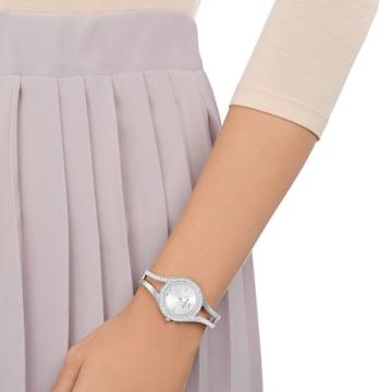 Relógio Eternal, pulseira em metal, branco, aço inoxidável - Swarovski, 5377545