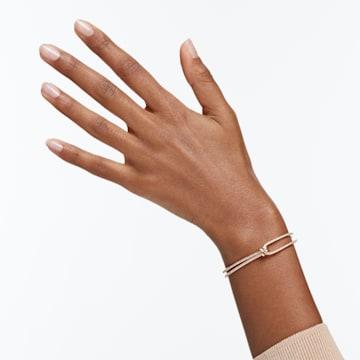 Lifelong 手镯, 白色, 镀玫瑰金色调 - Swarovski, 5390818