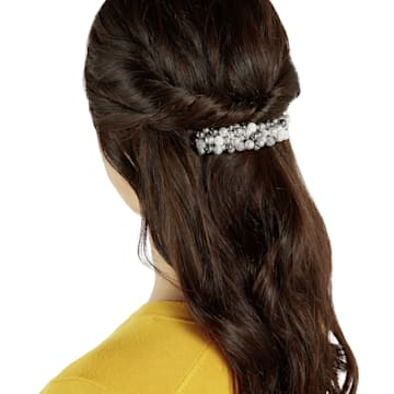 Lady Jane 髮夾, 多色設計, 鍍鈀色 - Swarovski, 5398600