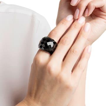 Nirvana ring, Black, Rose-gold tone PVD - Swarovski, 5410336