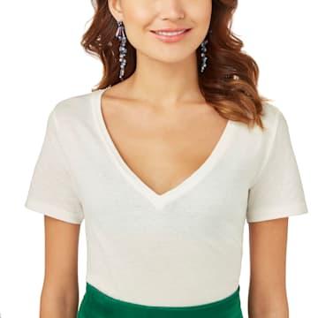 Model Pierced Earrings, Multi-colored, Ruthenium plated - Swarovski, 5410992