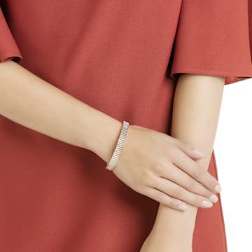 Luxury Bangle, Black, Rose-gold tone plated - Swarovski, 5412013