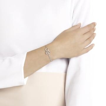 Fio Swarovski Remix Collection Forever Strand, branco, acabamento com vários metais - Swarovski, 5412330