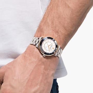 Octea Lux 手錶, 金屬手鏈, 不銹鋼 - Swarovski, 5414429