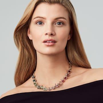 Mary Katrantzou Nostalgia Halskette, vergoldet - Swarovski, 5414522