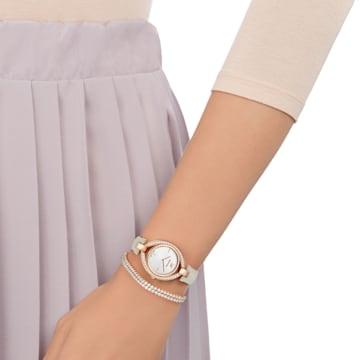 Stella 套装, 米色, 玫瑰金色调 - Swarovski, 5414703