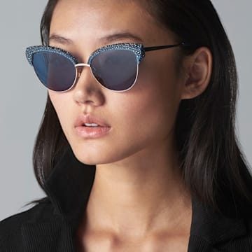 Gafas de sol Moselle Cat Eye, SK164-P 90X, Opal Blue - Swarovski, 5415532