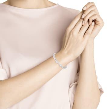 Louison Armband, weiss, Rhodiniert - Swarovski, 5419244