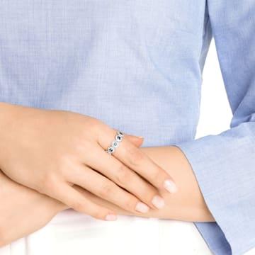 Angelic Ring, grünblau, Rhodiniert - Swarovski, 5424993