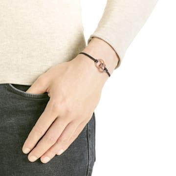 Alto 手鏈, 灰色, 鍍玫瑰金色調 - Swarovski, 5429899