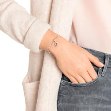 Swarovski Remix Collection Hamsa Hand Charm, 多色設計, 鍍玫瑰金色調 - Swarovski, 5434402