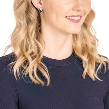 Make 穿孔耳环, 彩色设计, 镀玫瑰金色调 - Swarovski, 5446241