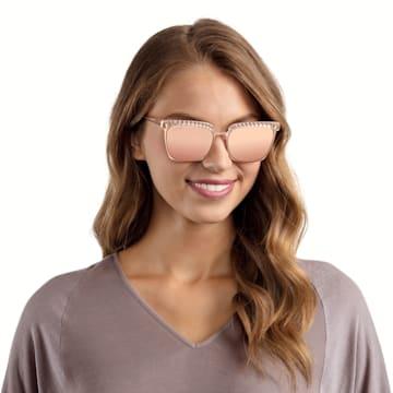 Swarovski 太陽眼鏡, SK0196-33G, 粉紅色 - Swarovski, 5447883