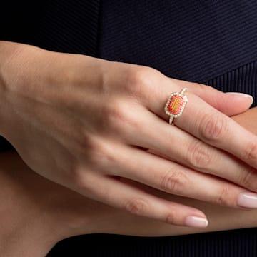 No Regrets 戒指, 彩色设计, 镀金色调 - Swarovski, 5457503