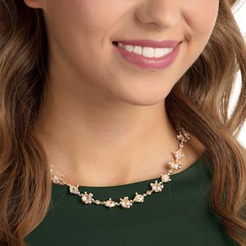 Olive 項鏈, 多色設計, 鍍金色色調 - Swarovski, 5460987