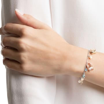 Bracelet Ocean, multicolore, combinaison de métaux plaqués - Swarovski, 5462584