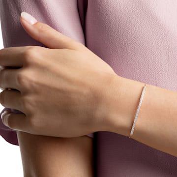 Only Armband, weiss, Rosé vergoldet - Swarovski, 5464128