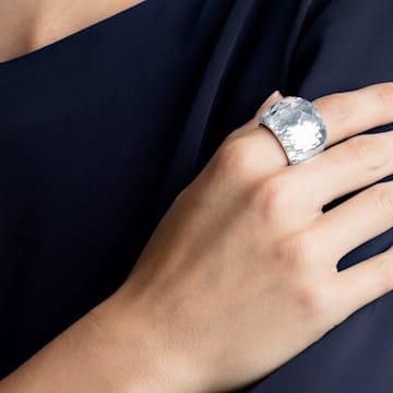 Δαχτυλίδι Swarovski Nirvana, ασημί απόχρωση, ανοξείδωτο ατσάλι - Swarovski, 5474364