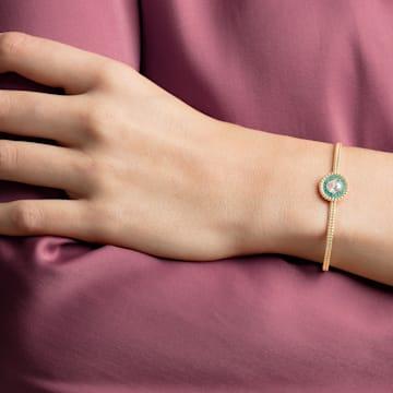 Bracelet-jonc Oxygen, multicolore, Métal doré - Swarovski, 5479936