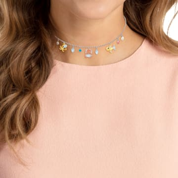 Ocean 頸鍊, 多色設計, 混搭多種鍍層 - Swarovski, 5480781