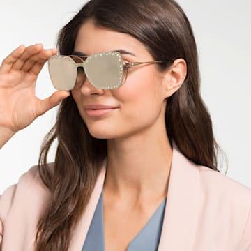 Swarovski rápattintható maszk napszemüveghez, SK5330-CL 32G, barna - Swarovski, 5483809