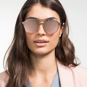 Swarovski Click-on Maske Çerçeveli Güneş Gözlükleri, SK0276-H 54032, Pembe - Swarovski, 5483811