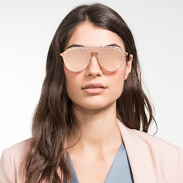 Swarovski Click-on Mask sunglasses, SK5329-CL 32G, Rose - Swarovski, 5483812