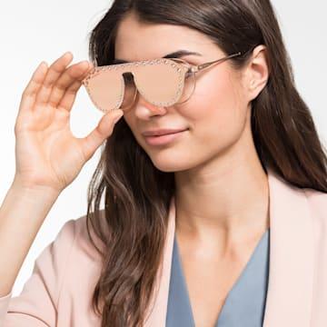 Swarovski 扣式遮光鏡片,太陽眼鏡適用, SK5329-CL 32G, 玫瑰 - Swarovski, 5483812