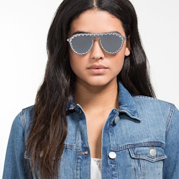 Gafas de sol Swarovski Click-on Mask, SK5329-CL 16C, Gris - Swarovski, 5483816