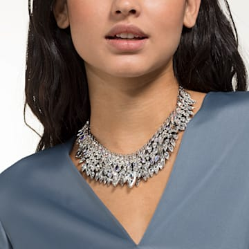 Polar Bestiary Halskette, mehrfarbig, Rhodiniert - Swarovski, 5485881