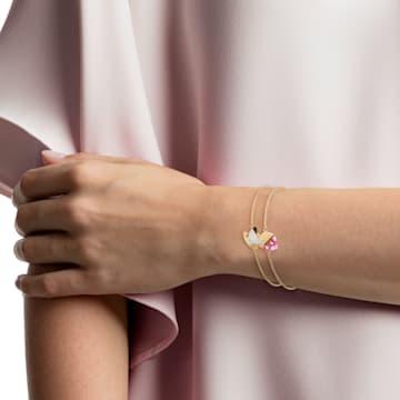 Set Nicest, Multicoloră, Placat cu auriu - Swarovski, 5486079
