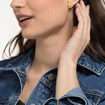 Looney Tunes Pierced Earrings, Multi-coloured, Mixed metal finish - Swarovski, 5487639